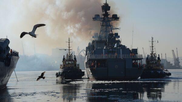 Velká protiponorková loď Admirál Tribuc - Sputnik Česká republika