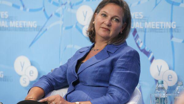 Pomocnice ministra zahraničí USA pro Evropu a Eurasii Victoria Nulandová - Sputnik Česká republika