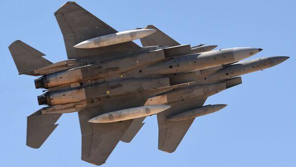 Saúdské stíhačky F-15SA - Sputnik Česká republika