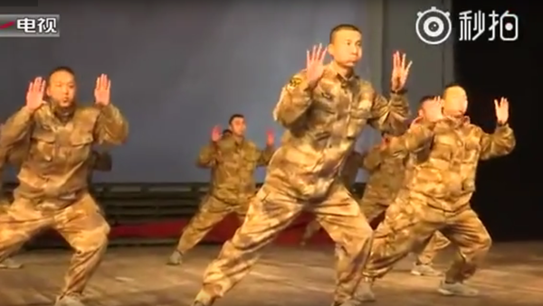 Tanec čínských vojáků - Sputnik Česká republika