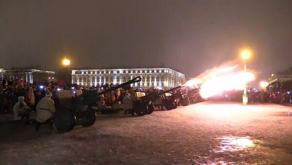 Výročí prolomení blokády v Petrohradě - Sputnik Česká republika