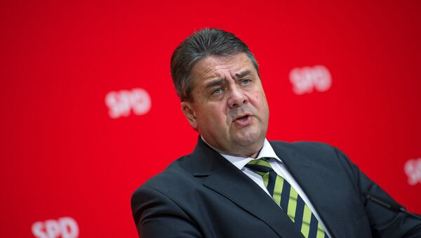 Německý ministr zahraničí Sigmar Gabriel - Sputnik Česká republika