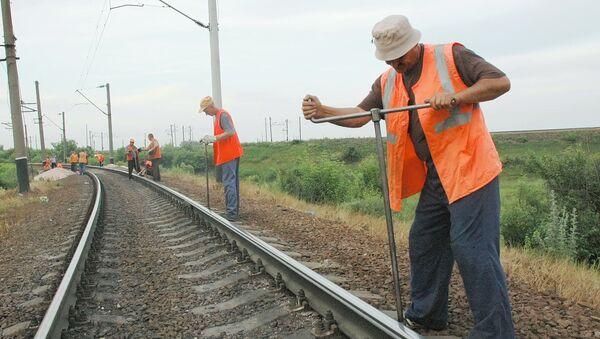 Pracovníci Ruských železnic - Sputnik Česká republika