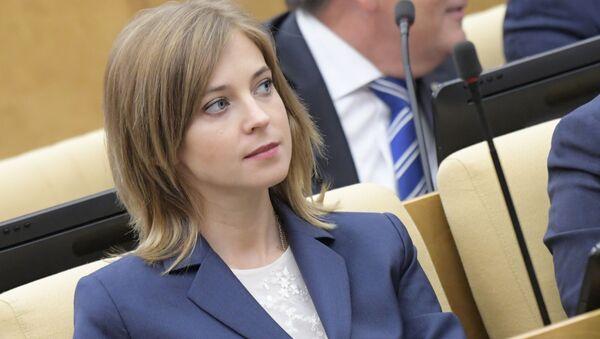 Ruská poslankyně Natalja Poklonská - Sputnik Česká republika