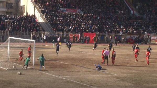 Fotbalové utkání v Aleppu - Sputnik Česká republika