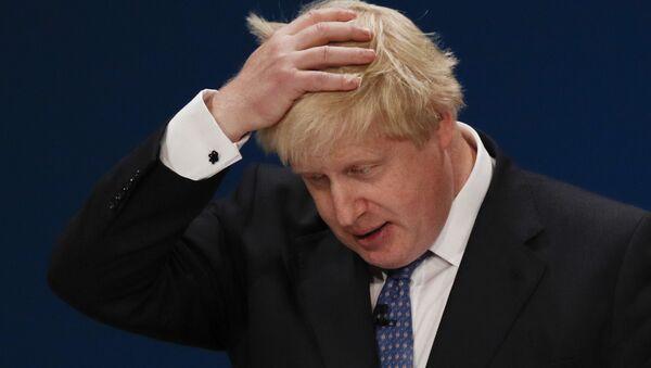 Ministr zahraničí Spojeného království Boris Johnson - Sputnik Česká republika