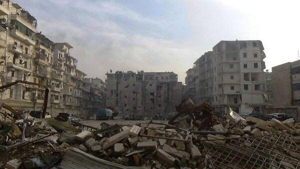 Al Soukari, poslední osvobozená čtvrt' Aleppa - Sputnik Česká republika