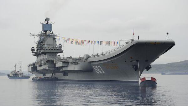 První bojová výprava Admirála Kuzněcova - Sputnik Česká republika