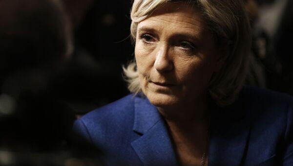 Předsedkyně strany Národní fronta Marine Le Penová - Sputnik Česká republika