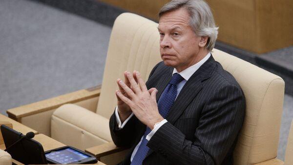 Senátor Alexej Puškov - Sputnik Česká republika