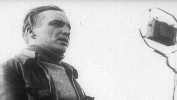 Sovětský letec Valerij Čkalov - Sputnik Česká republika