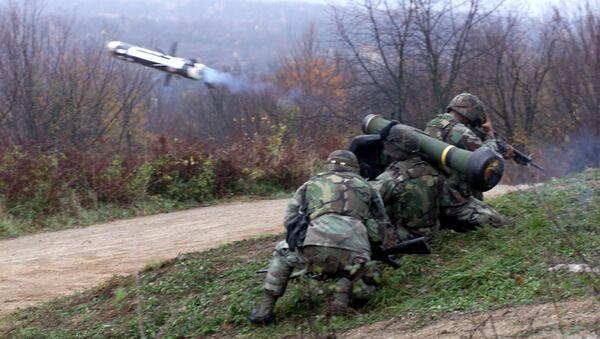 Komplety Javelin - Sputnik Česká republika