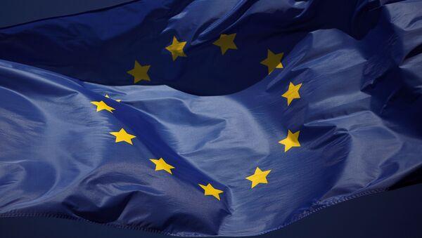 Vlajka EU - Sputnik Česká republika