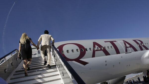 Qatar Airways - Sputnik Česká republika