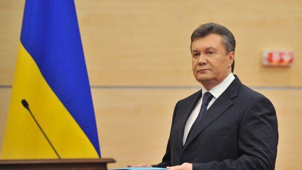 Byvalý prezident Ukrajiny Viktor Janukovič - Sputnik Česká republika