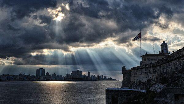 Pohled z pevnosti El Morro v Havaně, Kuba - Sputnik Česká republika