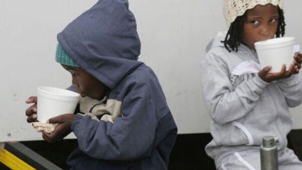 Děti afrických uprchlíků - Sputnik Česká republika