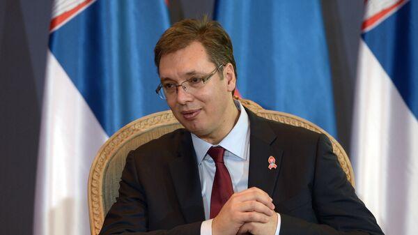 Alexandr Vučič - Sputnik Česká republika