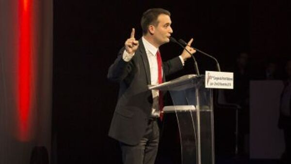 Francouzská ultrapravicová strana Národní fronta - Sputnik Česká republika