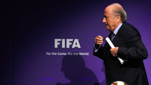 Sepp Blatter - Sputnik Česká republika