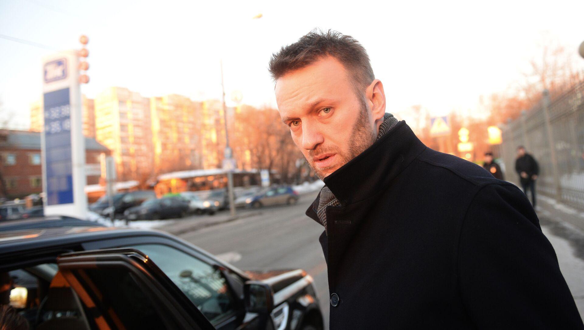 Ruský opozičník Alexej Navalný - Sputnik Česká republika, 1920, 17.02.2021