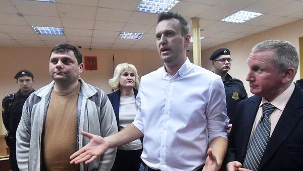 Ruský bloger Alexej Navalnyj - Sputnik Česká republika