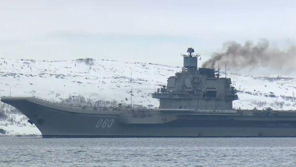 Slavnostní přivítání Admirála Kuzněcova v Severomorsku - Sputnik Česká republika