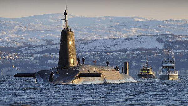 Britská ponorka - Sputnik Česká republika