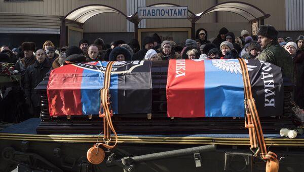 V Doněcku se rozloučili s Givim - Sputnik Česká republika
