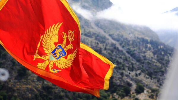 Vlajka Černé Hory - Sputnik Česká republika