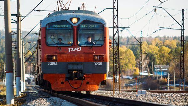 Vlak RŽD - Sputnik Česká republika