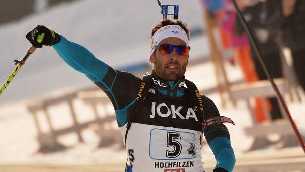 Francouzský biatlonista Martin Fourcade - Sputnik Česká republika