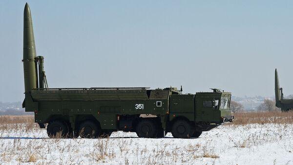 Operačně-taktický raketový systém Iskander-M - Sputnik Česká republika
