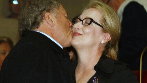 Meryl Streepová a její manžel Don Gummer - Sputnik Česká republika