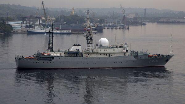 Ruská průzkumná loď Viktor Leonov - Sputnik Česká republika
