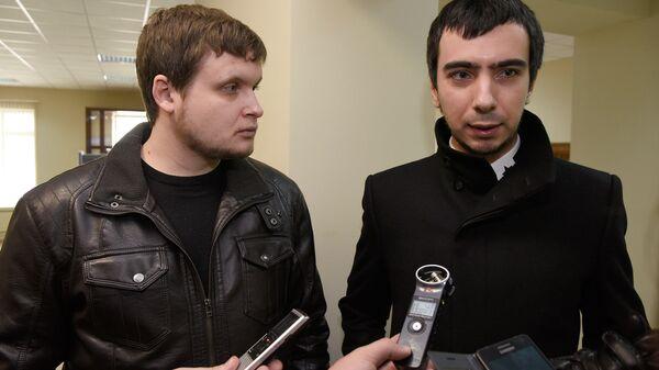 Prankeři Lexus (Andrej Stoljarov) a Vovan (Vladimir Kuzněcov) - Sputnik Česká republika