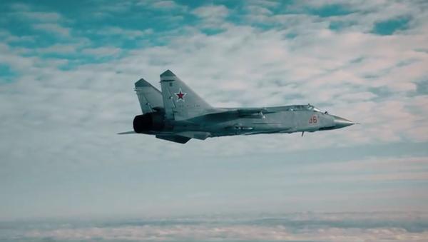 Letci předvedli, jak MiG-31 sestřeluje kosmické družice - Sputnik Česká republika