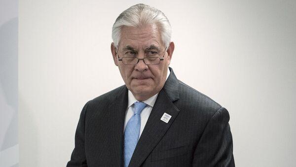 Americký ministr zahraničí Rex Tillerson v Bonnu - Sputnik Česká republika
