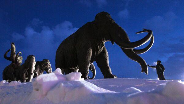 Pomník mamutů u Chanty-Mansijsku - Sputnik Česká republika