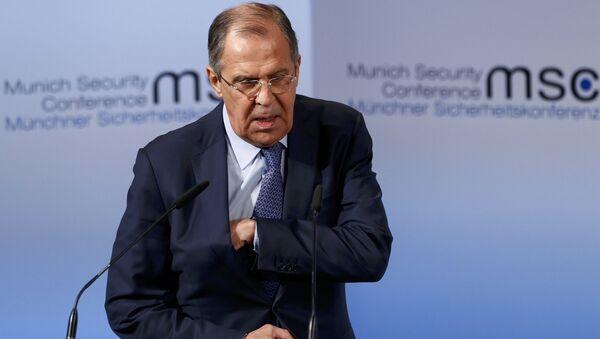 Sergej Lavrov na bezpečnostní konferenci v Mnichově - Sputnik Česká republika