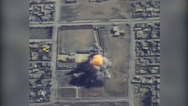 Bombardéry Tu-95 použily okřídlené rakety při útoku na veliteské stanoviště IS - Sputnik Česká republika