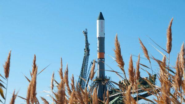 Nosná raketa Sojuz-U. Archivní foto - Sputnik Česká republika