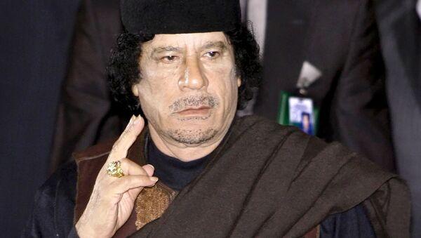 Muammar Kaddáfí - Sputnik Česká republika