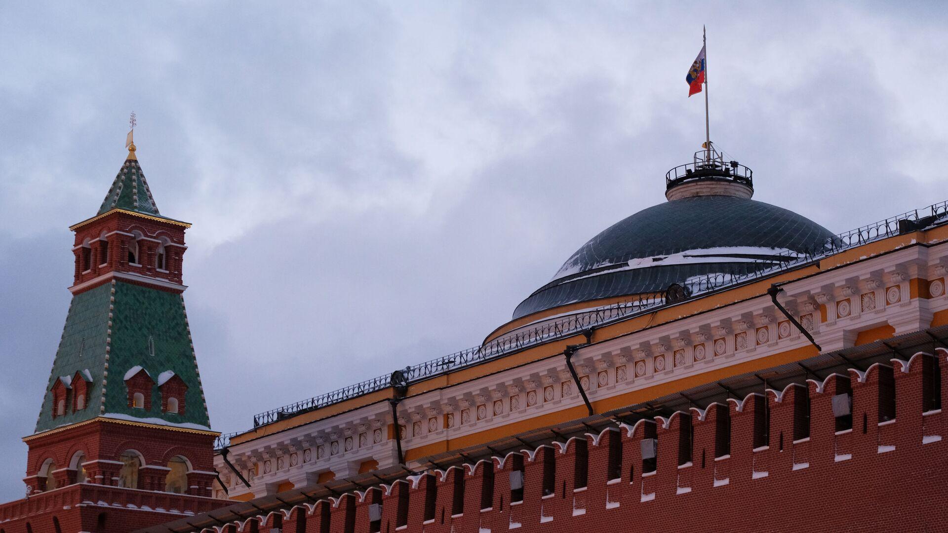 Pohled na Moskevský Kreml - Sputnik Česká republika, 1920, 21.04.2021