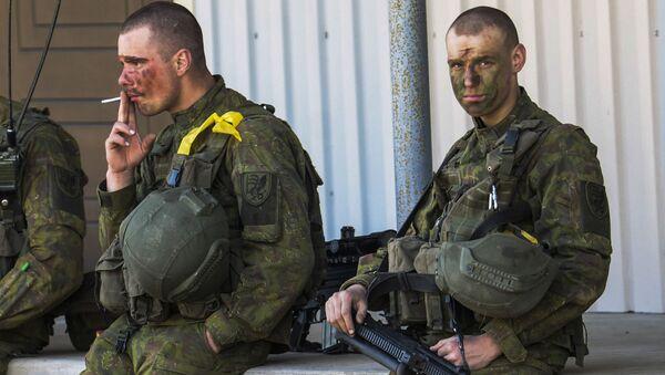 Estonští vojáci - Sputnik Česká republika