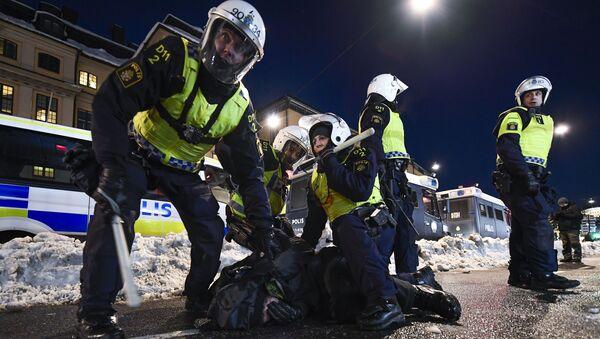 Stockholmská policie - Sputnik Česká republika
