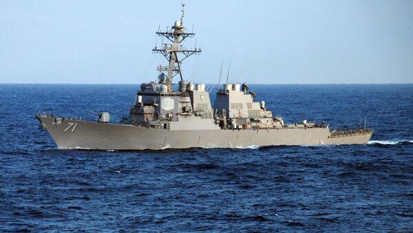 Torpédoborec Ross amerického námořnictva - Sputnik Česká republika