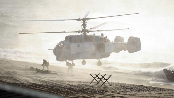 Rusko-běloruská cvičení Západ 2013 - Sputnik Česká republika