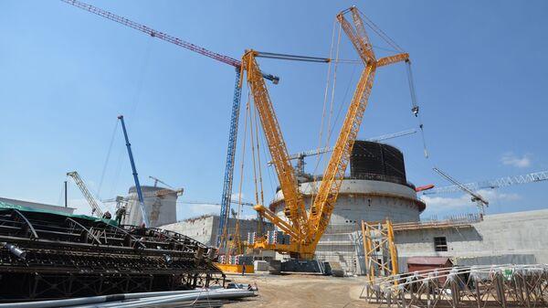 Budování jaderné elektrárny. Ilustrační foto - Sputnik Česká republika