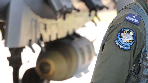 Saúdský pilot vedle stíhačky F-15 - Sputnik Česká republika